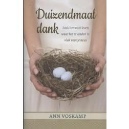 Duizendmaal dank : Ann Voskamp, 9789051944341